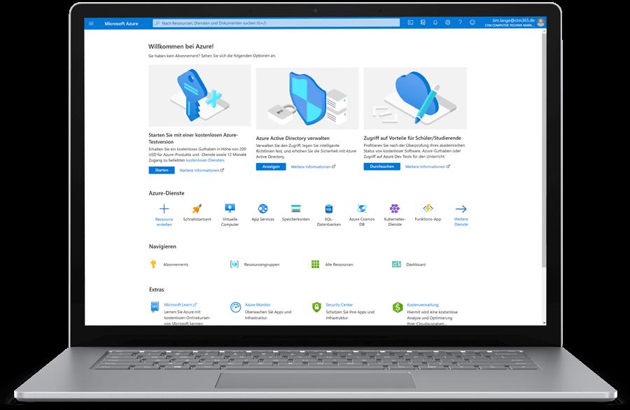 CTM Microsoft Azure Einrichtung
