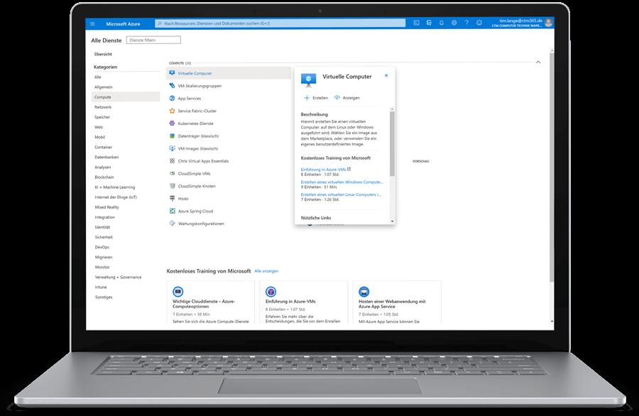CTM Microsoft Azure Cloud Lösung