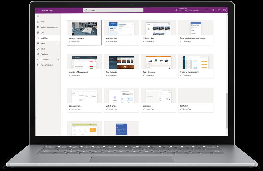 CTM Microsoft Power Apps Cloud