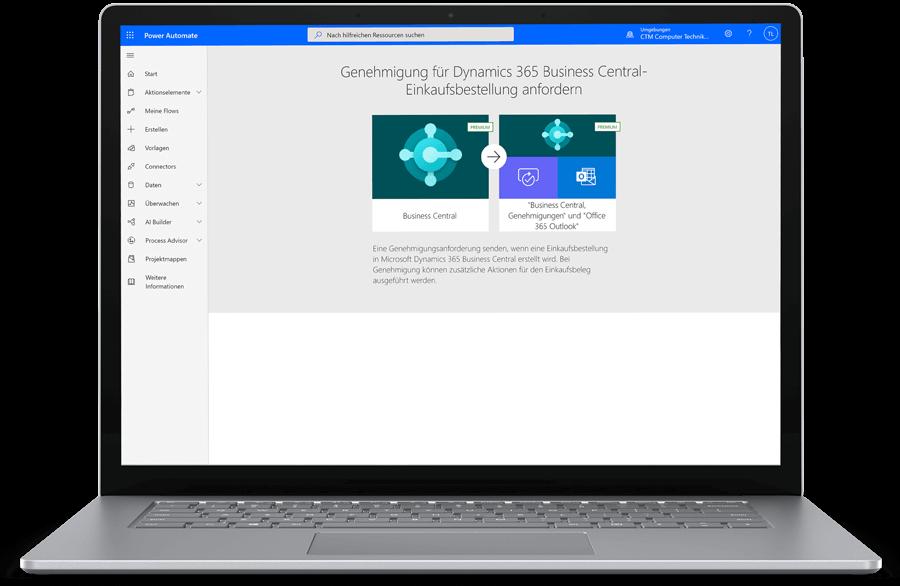 CTM Microsoft Power Automate Genehmigungen